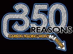 Design: 350 Reasons Carbon Trading Won't Work