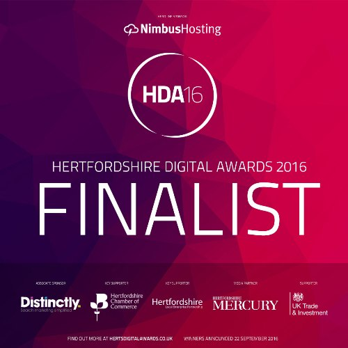 Vivacious Mum finalist @ Hertfordshire Digital Awards