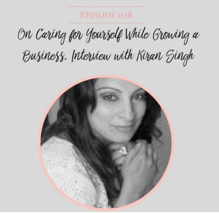My interview with LearnSavvy  'On caring for Yourself while growing a Business'