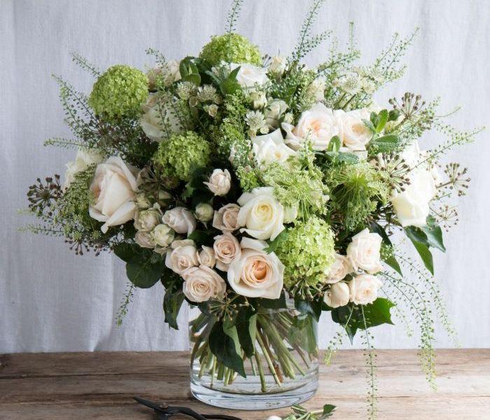 Seasonal Ivory Garden Bouquet