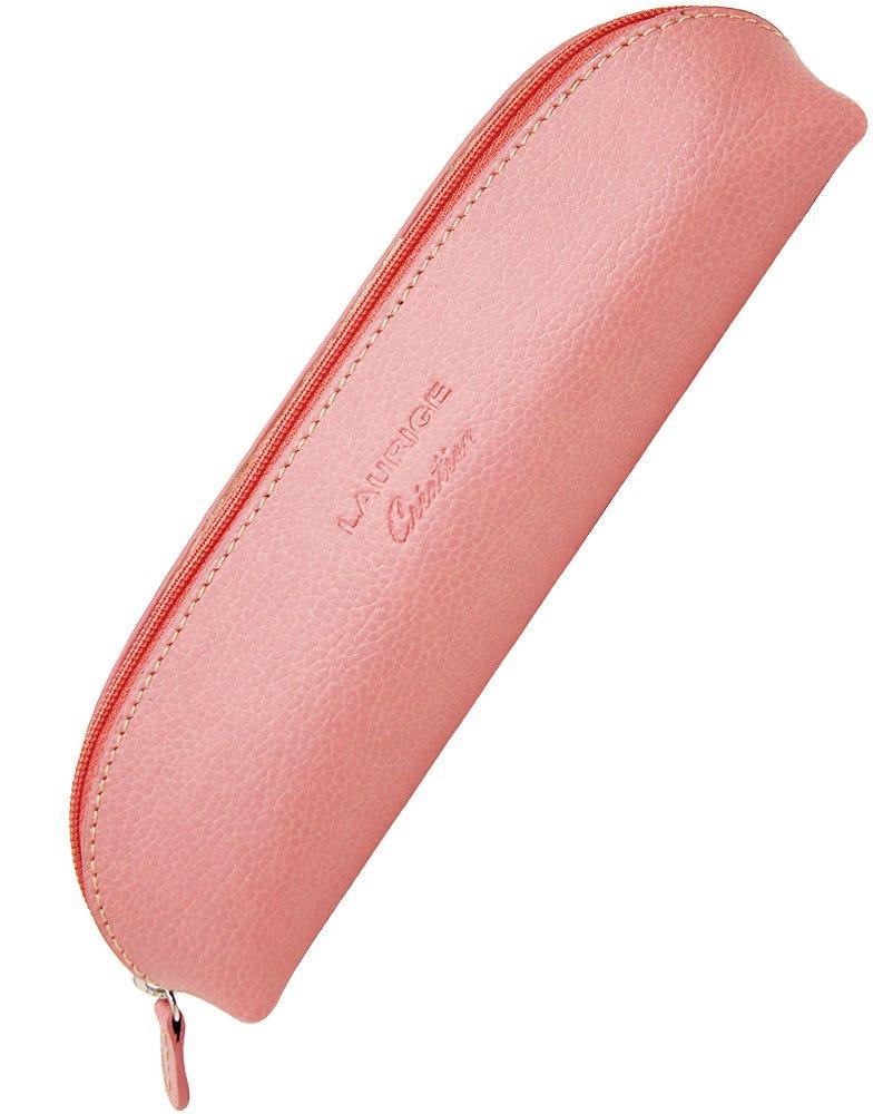Laurige Leather Pencil Case - Pastel Rose