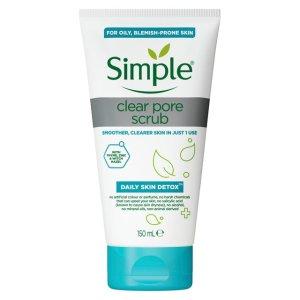 Simple Daily Detox Clear Pore Scrub