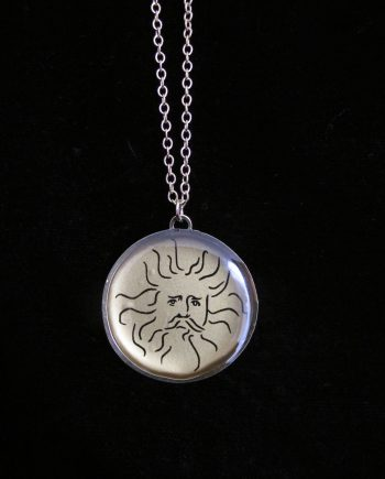 sterling silver necklace minerva sulis