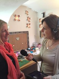 Ali Vowles from BBC Radio Bristol & Marie Curtis of Design Vaults