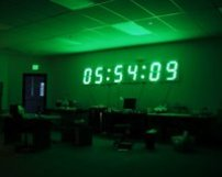 large led clock