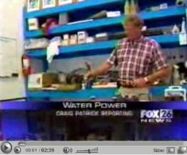 water as fuel video