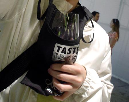 Florence TASE wine lanyard