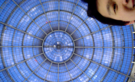 milan glass roof