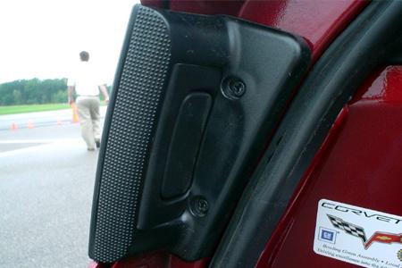 GM Test Drive Detroit Driving Corvette