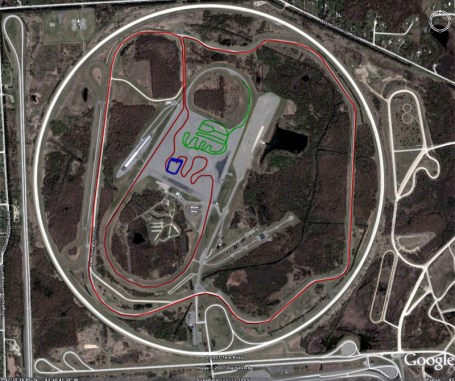 GM Proving Grounds map Detroit milford
