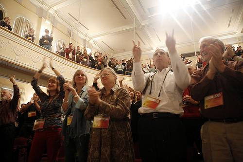 poptech2007 camden maine applause