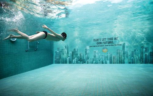 Global warming ad pool