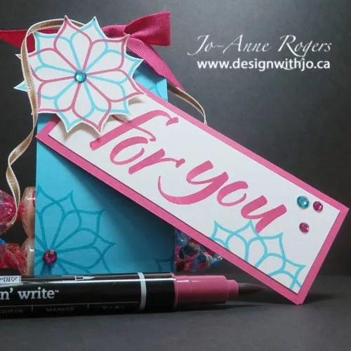 quick and easy brush marker lettering gifts