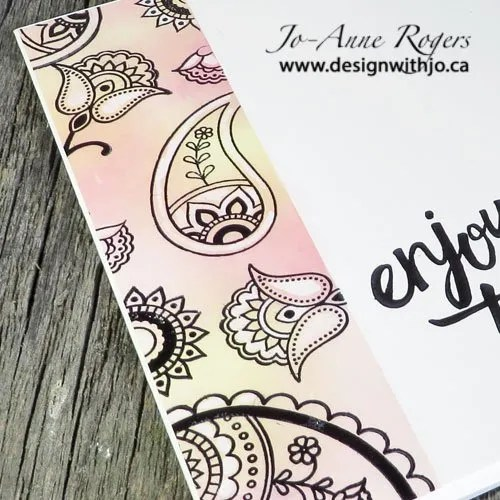 more colourful crayon resist glossy paper cards