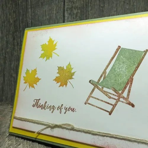 Use the Rock'n Roll Technique to Create a Fall Card