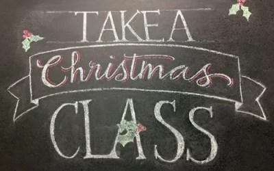 2017 Christmas Classes!
