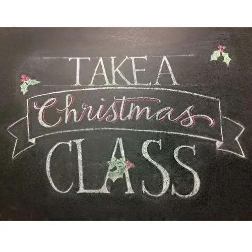 2017 Christmas Classes!