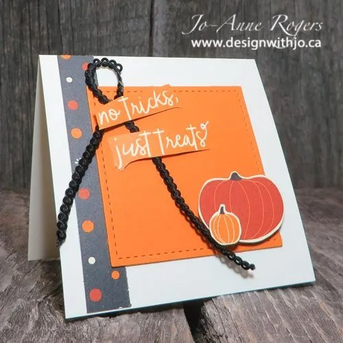 DIY cutest Hallowe'en notecards set