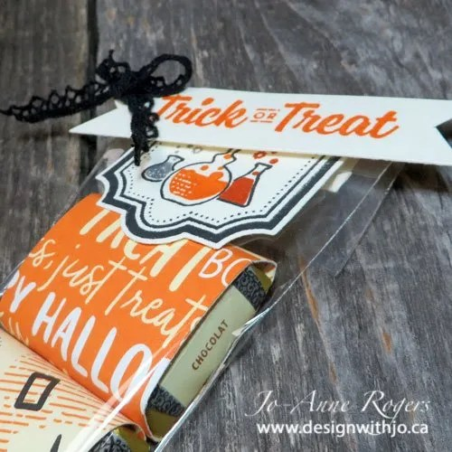 make a trick or treat bag for hallowe'en