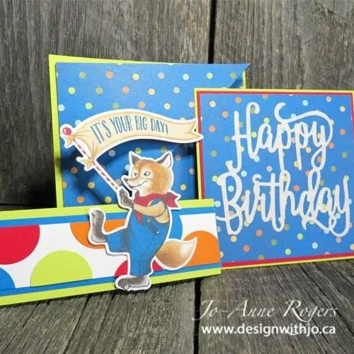why I love fancy fold birthday cards