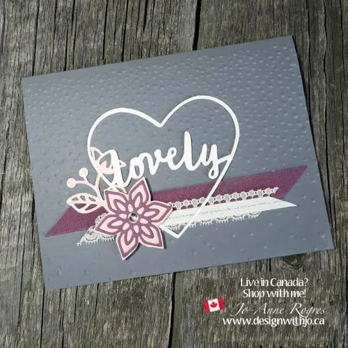 Simply Lovely Cards with Heart Shaped Cutouts