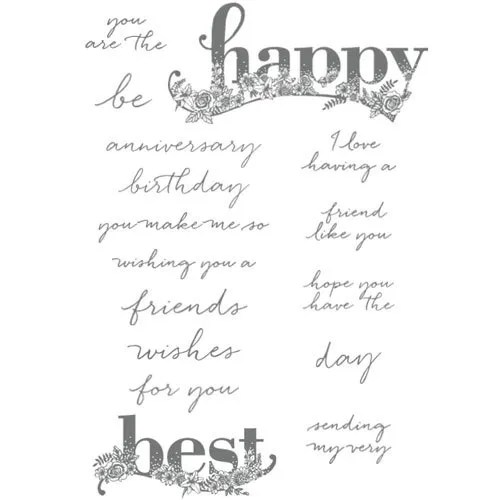 Happy Wishes Stampin Up Sale-a-bration