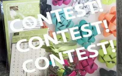 It's Easy to Enter My Front & Centre Contest!