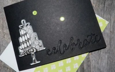 What Are THE Best Stampin' Up! Framelits to Make Zentangle Cards?