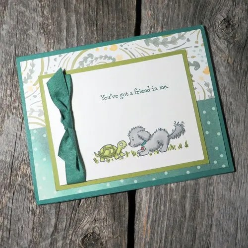 Cute Colour Cards with Stampin Write Markers