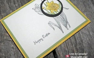 Easy Handmade Easter Card Ideas in Less Than Ten Minutes | VIDEO