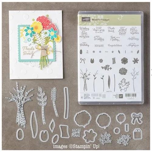 Beautiful Bouquet Stampin Up Fun Fold Cards