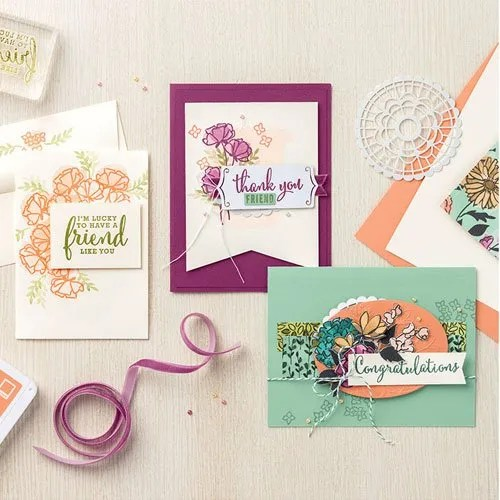 New Stampin Up Pre-Release Bundles
