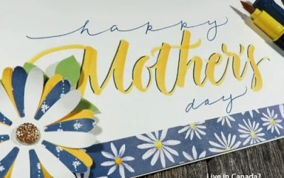 Make a Brush Lettered Mothers Day Card | VIDEO