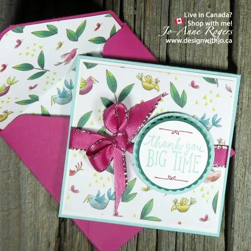 It's ALL about matching Designer Series Paper and coordinating cardstock for gorgeous cards