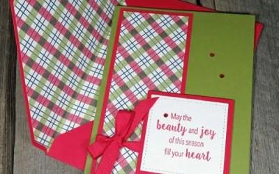 Christmas Envelope Punch Board Envelope Liners | VIDEO