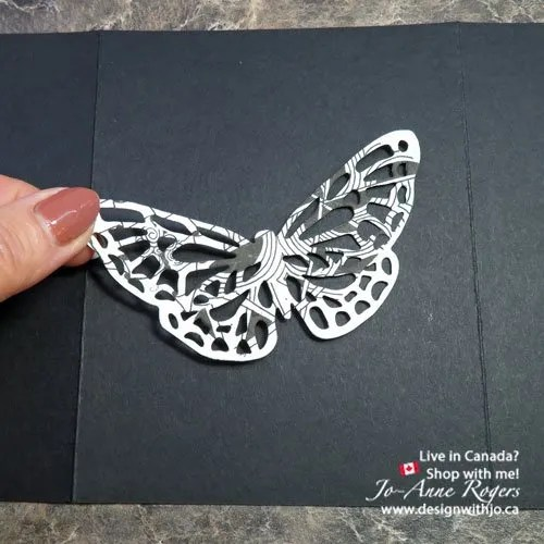 how to make zentangle cards with detailed thinlits