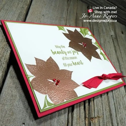 Rubber Stamping & Embossing Christmas Cards