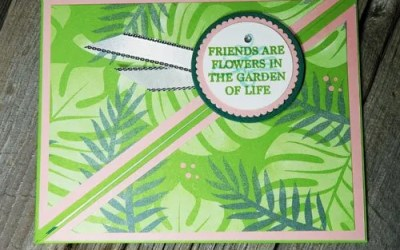 Tropical Escape Gift Card Holder