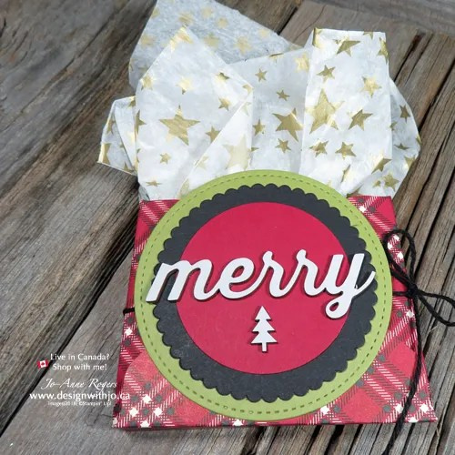 Christmas Creative Packaging with the Envelope Punch Board