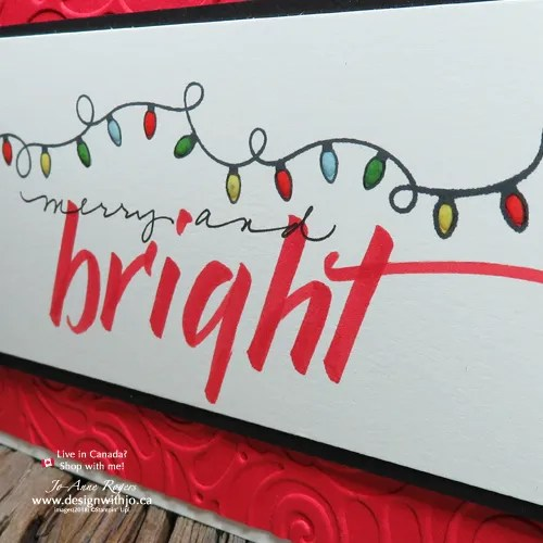 Make a Simple Holiday Card to WOW This Year