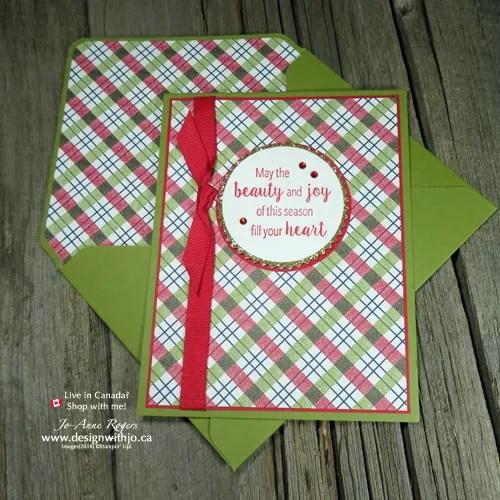Let's Make an Envelope Liner with the Envelope Punch Board