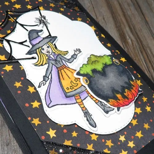 Over the Top Twist-and-Pop Halloween Card