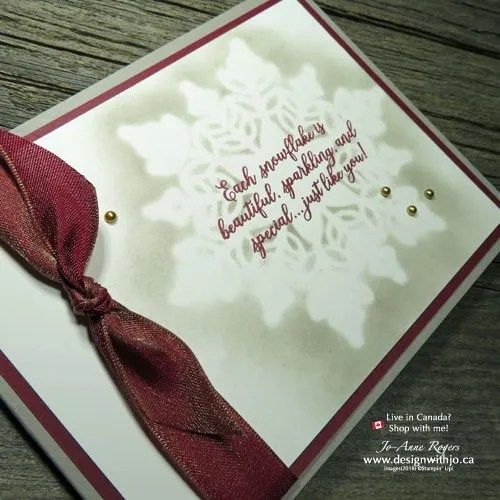EASY as 1-2-3 How to Use Sponge Daubers for Card Making