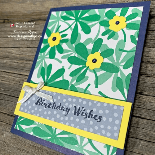 Simple Cards with Happiness Blooms Memories & More Card Pack Make Cardmaking QUICK and EASY