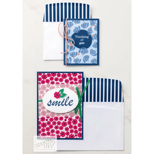 Simple Cards with Happiness Blooms Memories & More Card Pack