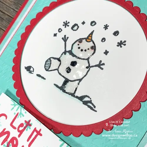 Use the Color Lifter Stampin Blends for Sweet Snowman Season Cards