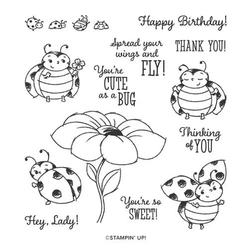 Adorable DIY Projects with Ladybug Stamps from Stampin' Up!