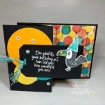 I Love This Fun Birthday Card for Boys Using Heat Embossing and Circles Dies