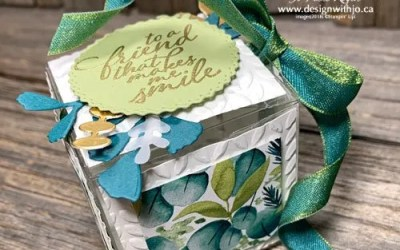How to Decorate a Gift Box with Cutouts