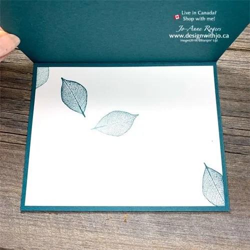 Learn to Make a Simple Sponged Handmade Card